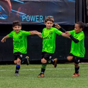 disfrutar jugando al futbol